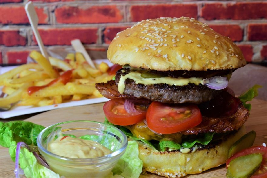 Grill Burgerheart.